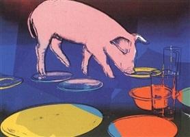 fiesta pig [ii.184] by andy warhol
